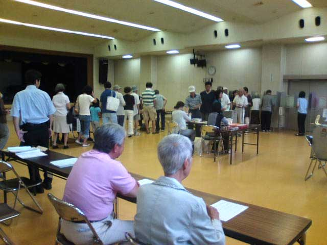 09総選挙鵠沼海岸