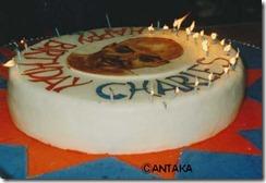 バークリー誕生ケーキ