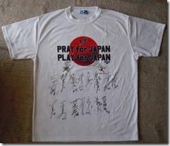 富士通サインTシャツ