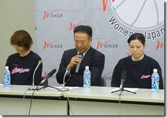 WJBLファイナルス3記者会見トヨタ