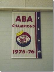 Nets優勝バナーABA76