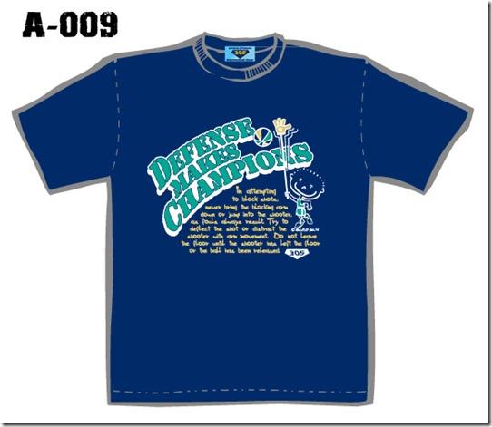 A-009紺Tシャツカンプサイト用