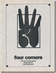 4Cornerメニュー